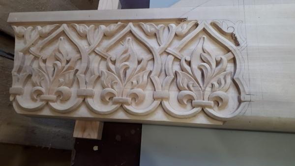 Процесс изготовления нового Иконостаса для нашего Храма